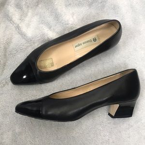 🦋ETIENNE AIGNER🦋 black patent leather heels